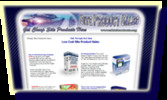 Thumbnail Misty Blue Template Collection Minisite Graphics MRR